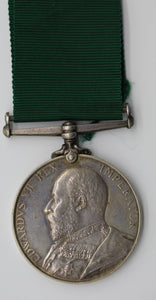GB King Edward VII Volunteer Force Long Service Medal