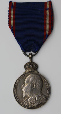 GB King Edward VII Royal Victorian Silver Medal – British Issue