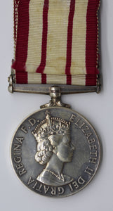 GB Queen Elizabeth II Naval General Service Silver Medal with Near East Clasp