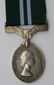GB Queen Elizabeth II Royal Auxiliary Air Force Air Efficiency Medal