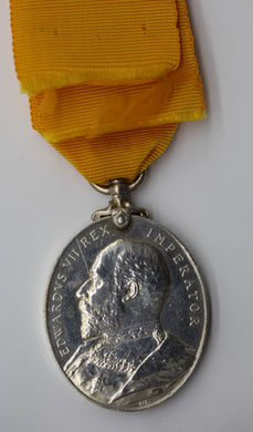 GB King Edward VII Impoeral Yeomanry Long Service & Good Conduct Medal