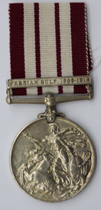 GB King George V Naval General Service Medal Silver