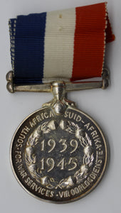 1939-45 South African Medal for War Services