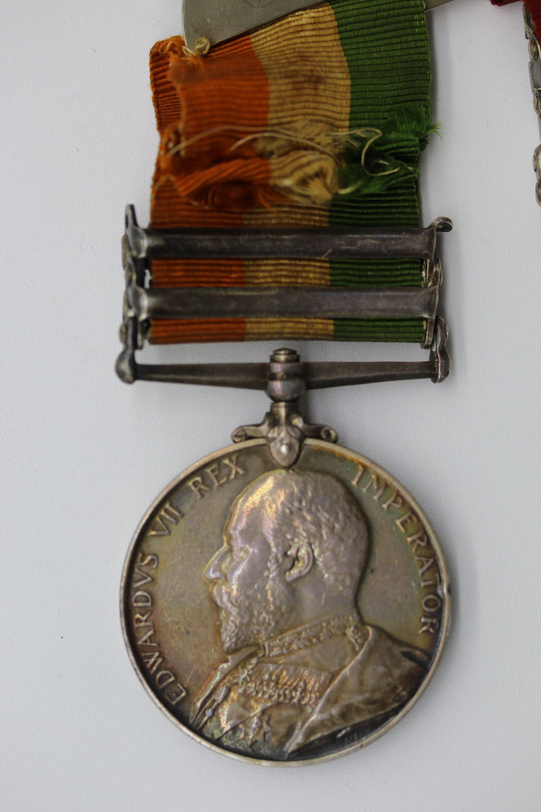 Queen's South Africa Medal (Type II) & King's South Africa Medal Pair