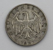 1927A Germany Reichs Mark - aVF