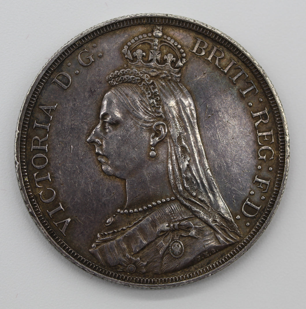 1887 GB Crown - aEF