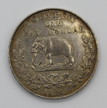 1821 Ceylon Six Dollar - gEF
