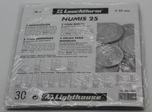 Lighthouse Coin Stock Sheets NH30