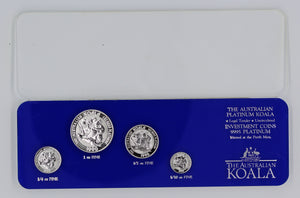 1990 Perth Mint Koala Platinum Set