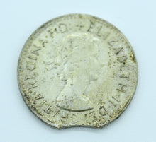 1961 Shilling - Clipped Planchet