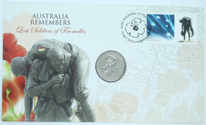2010 Australia Remembers - Lost Soldiers of Fromelles PNC