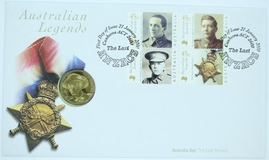 2000 Australian Legends The Last ANZACs PNC