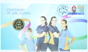 2010 Centenary of Girl Guides PNC