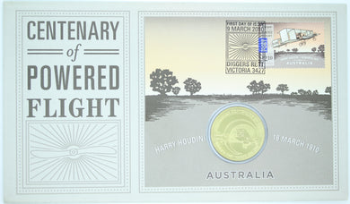 2010 Centenary of Powered Flight - Harry Houdini PNC