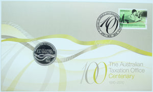 2010 100 Years of the Australian Taxation Office PNC