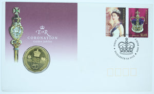 2003 Queen Elizabeth II Coronation Golden Jubilee PNC