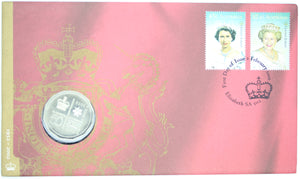 2002 Queen Elizabeth II Golden Jubilee Accession PNC