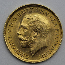 1914 Sydney George V Half Sovereign - UNC