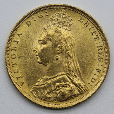 1889 Sydney Jubilee Head - UNC (Rim Nicks)