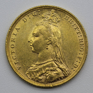 1882 Melbourne Jubilee Head - EF