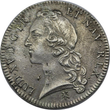 1759/9 France - Louis XV Silver Ecu - gVF