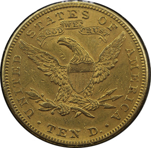 USA 1882 $10 Eagle - gVF