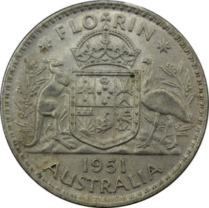 1957 Coat of Arms Florin - UNC