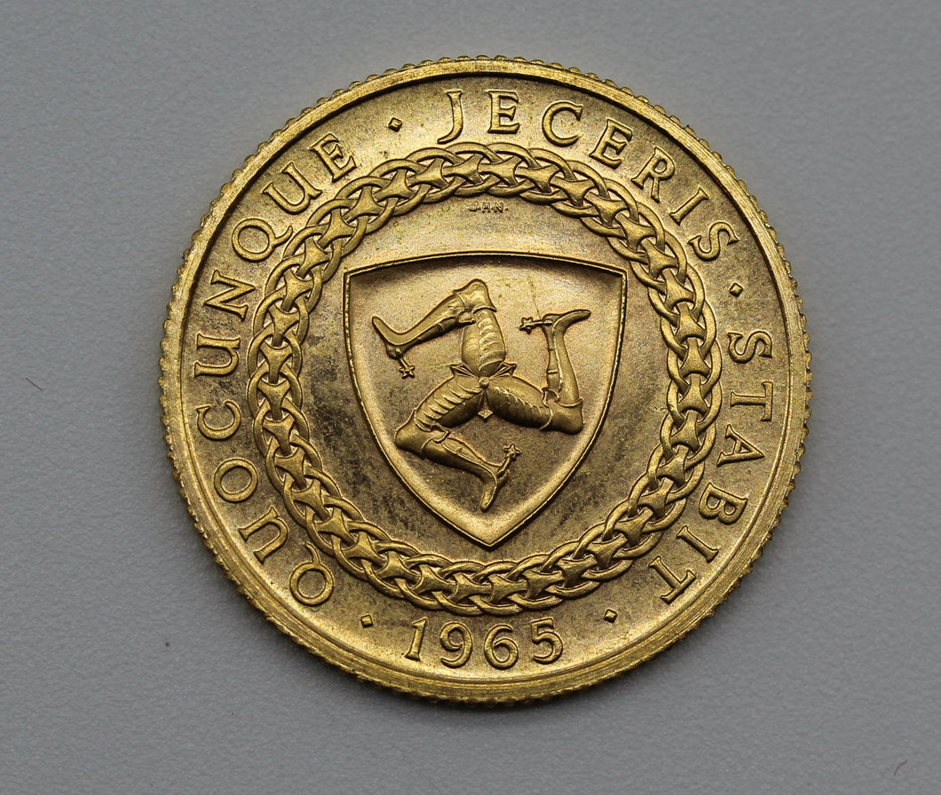 1965 Isle of Man Sovereign