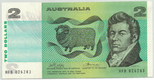1974 $2 R85 Phillips/Wheeler 'Australia' UNC