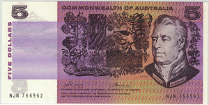 1972 $5 R204 Phillips/Wheeler 'Commonwealth' UNC