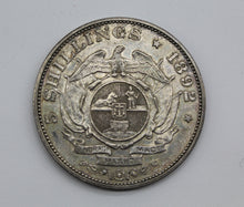 1892 South Africa Five Shillings - Single Shaft - EF