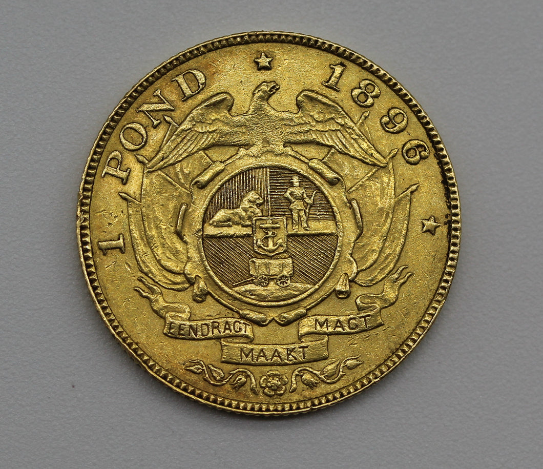 1896 South Africa One Pond