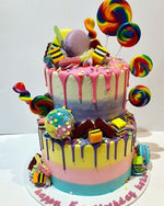 Cake Creations by Kate™ SpecialityCakes 2-Tier Candy Wonderland Speciality Cake