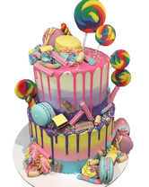 2-Tier Candy Wonderland Speciality Cake