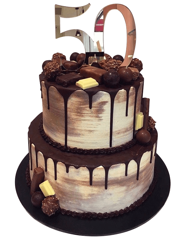 Cake Creations by Kate™ SpecialityCakes 2-Tier Chocolate Galore Speciality Cake