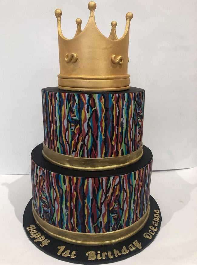 Cake Creations by Kate™ SpecialityCakes 2-Tier Edible Print Speciality Cake