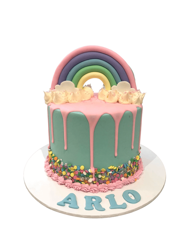Cake Creations by Kate™ SpecialityCakes 3D Fondant Pastel Rainbow Colourful Buttercream Speciality Cake
