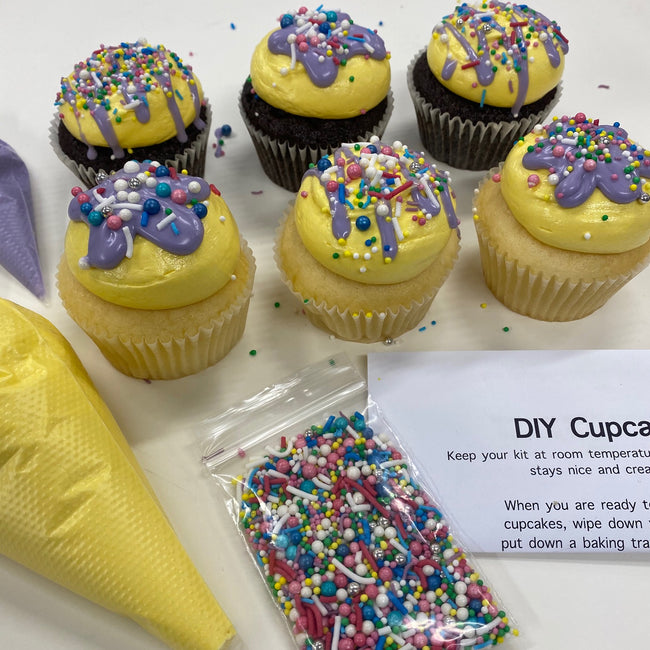 DIY Cupcake Decorating Kit - 6 pack