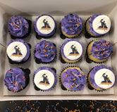 NRL Grand Final MELBOURNE STORM Mini Cupcakes