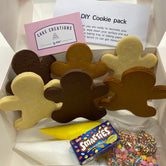 SOLD OUT Gingerbread man DIY Cookie Decorating Kit