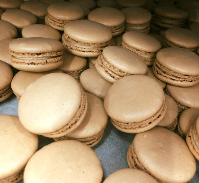 Cake Creations by Kate™ Macarons Beige Baby Salted Caramel Macarons