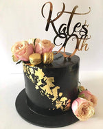 Black And Gold Extended Height Speciality Cake - Speciality cakes birthday chocolate ganache classic unique  rose gold 21 18 buttercream princess queen royal
