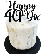 Cake Creations by Kate™ SpecialityCakes Black and White Double Height Fondant Speciality Cake