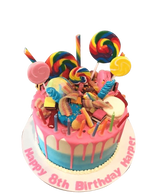 Candy Wonderland Ombre Buttercream Speciality Cake