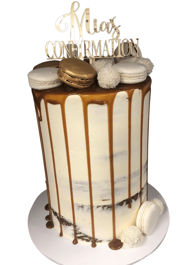 Cake Creations by Kate™ SpecialityCakes Caramel Drip Semi-Naked Buttercream Speciality Cake