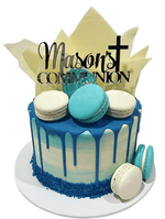 Cake Creations by Kate™ SpecialityCakes Chocolate Shards Communion/Baptism Speciality Cake