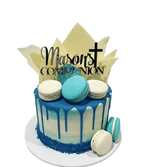 Chocolate Shards Communion/Baptism Speciality Cake