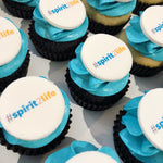 Cake Creations by Kate™ Mini Cupcakes Corporate Logo Mini Cupcakes