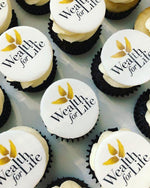 Corporate Logo Mini Cupcakes