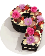 Cake Creations by Kate™ SpecialityCakes Floral Number Speciality Cake
